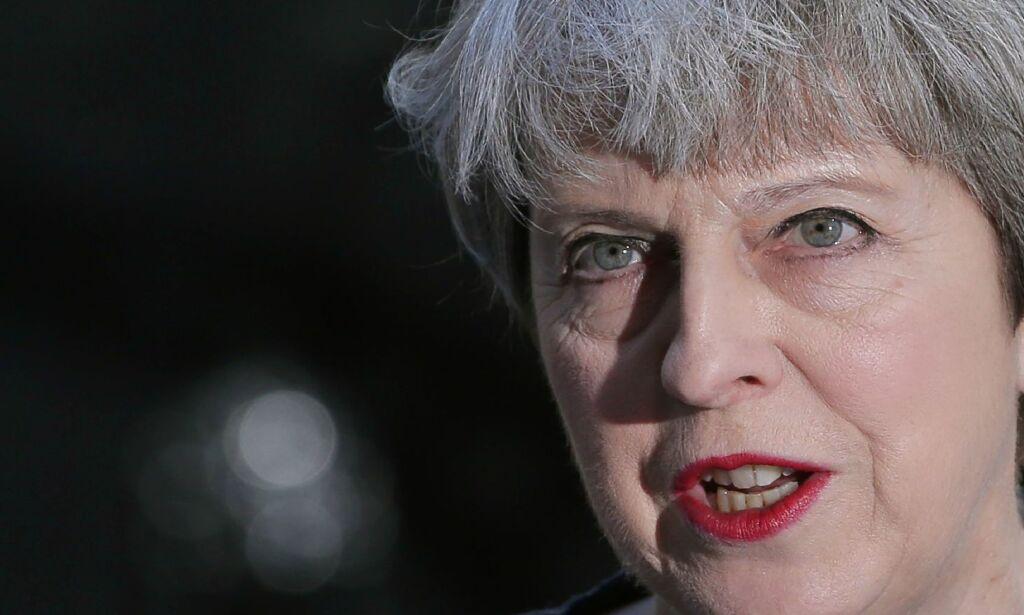 image: May: - Et av de verste terrorangrepene som har rammet Storbritannia