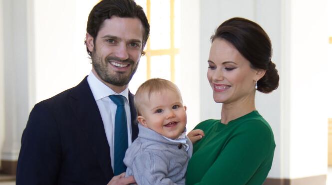 Prins Alexander av Sverige fyller ett år