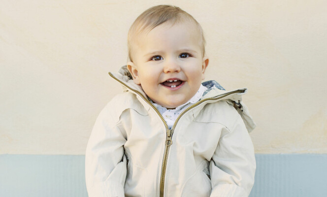 <strong>VOKSER TIL:</strong> Den lille gutten begynner virkelig å bli stor. Foto: Kungahuset&nbsp;