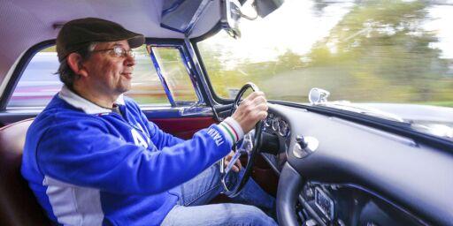 image: Det tok Mads tre år å pusle sammen sin egen Maserati