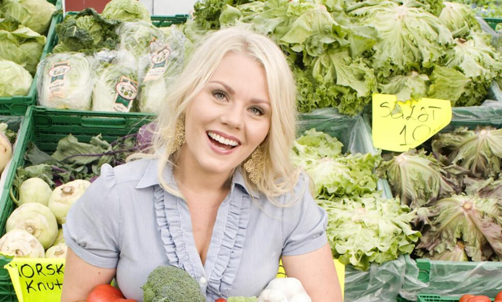 PUDDING ELLER SUNN: Det er mange måter å være vegetarianer på. Kostholdsveileder Carina Hultin Dahlmann synes mange vegetarianere og veganere ukritisk omfavner usunn mat. - Det er akkurat som om alt er bra, så lenge de ikke spiser kjøtt, sier hun. Foto: Eva Kylland