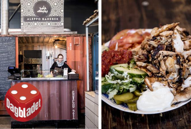 EN SMAK AV MIDTØSTEN: Velkjente smaker fra denne syriske matboden.