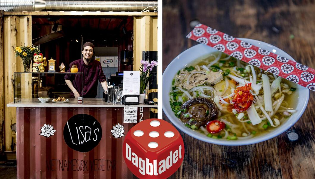 LISA'S: Vietnamesisk vegetarmat med futt!
