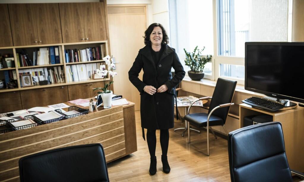 """FÅR SKRYT: Barne- og likestillingsminister Solveig Horne får mye skryt for den nye felles likestillings- og diskrimineringsloven, men det er også enkelte innsigelser.  <span style=""""background-color: initial;"""">Foto: Lars Eivind Bones / Dagbladet</span>"""