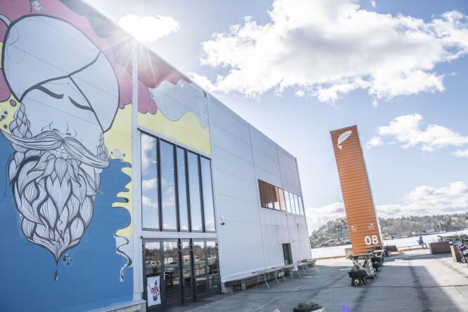 GATEMAT: Vippa er Oslos nye mathall ytterst på Vippetangen.