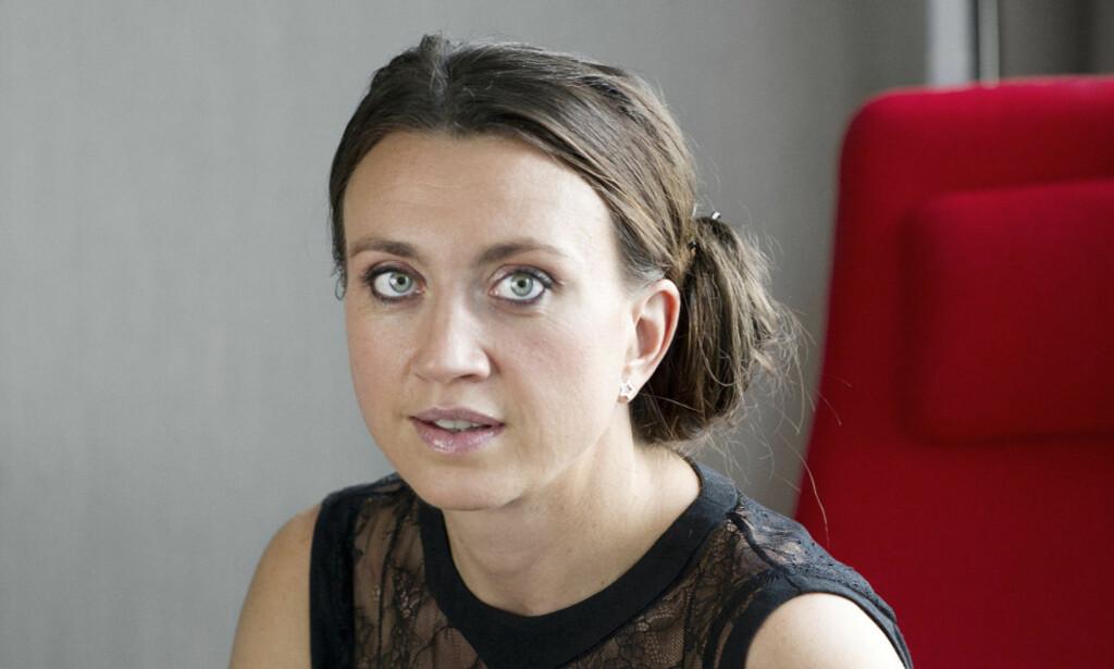 BLE STANSET: Camilla Läckberg er en av Sveriges mest populære krimforfattere. Läckberg medvirket i en påskereklame for dagligvarekjeden Ica, som aldri ble sendt på TV. Foto: Anna Hållams /Aftonbladet / NTB Scanpix