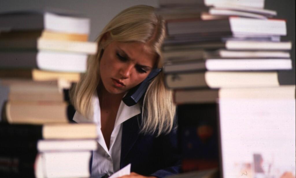 KONSENTRERT: Mye lesing krever smart spising. Enkelte typer mat kan påvirke konsentrasjonen. Foto: NTB/Scanpix