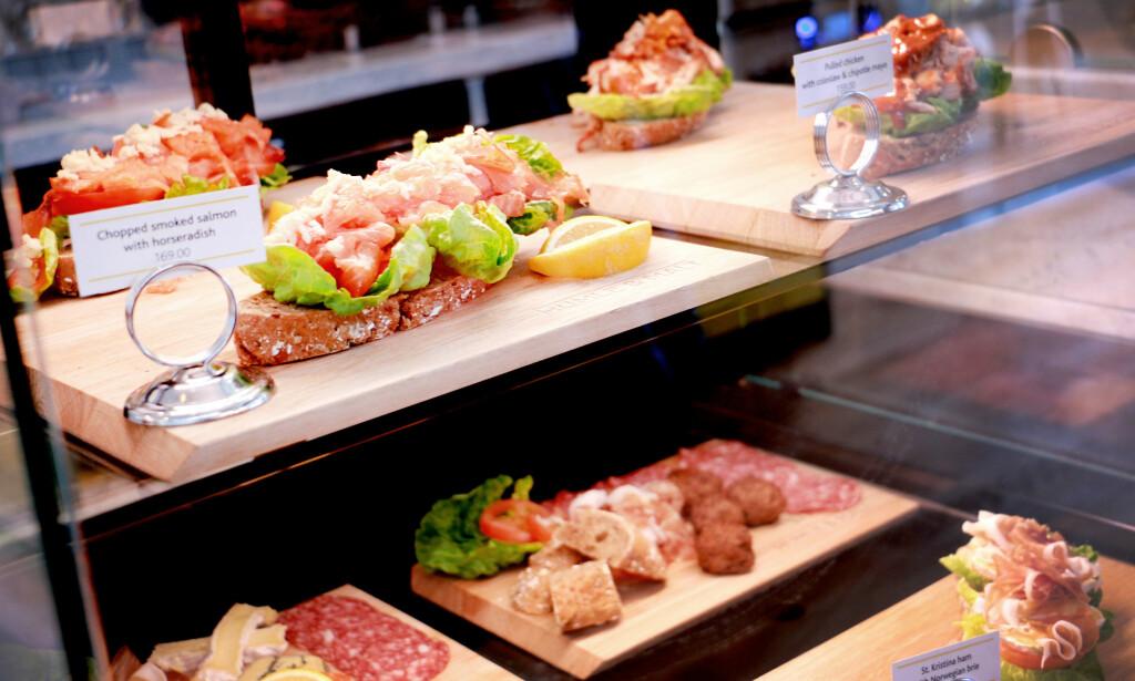 SMØRBRØD: Der vi ikke har funnet baguetter å sammenlikne, har vi tatt med pris på smørbrød eller sandwich. Der er det også mange varianter, både i pålegg og selve brødet. Foto: Ole Petter Baugerød Stokke