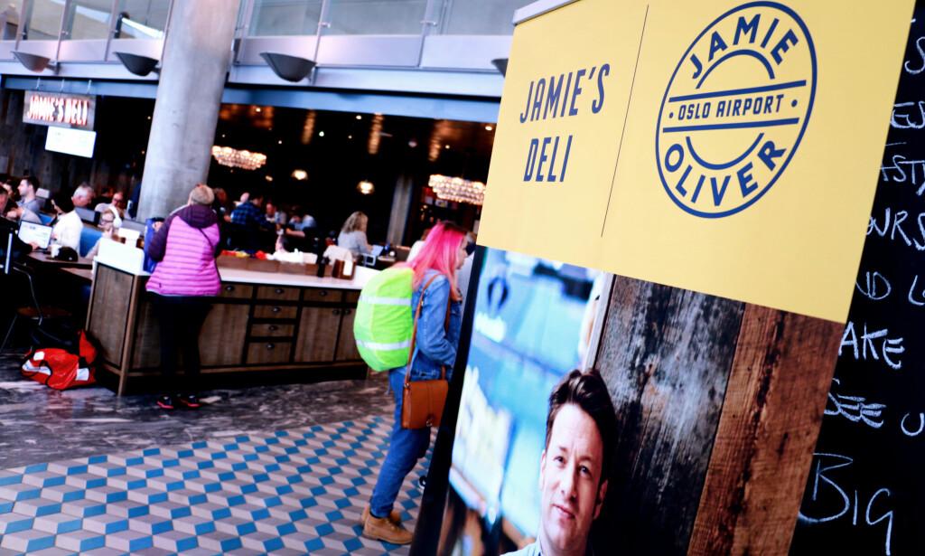 MANGE NYE: Jamie Oliver er blant de nye på Gardermoen, med to serveringssteder: En restaurant på utland og en deli på innland. Foto: Ole Petter Baugerød Stokke