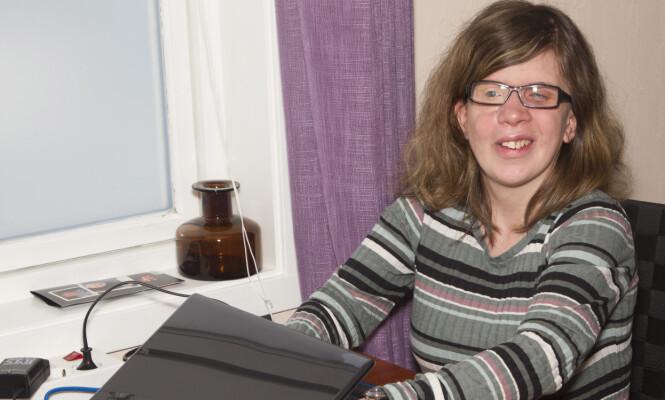 ENGASJERT: Tanita er i dag sterkt engasjert i Blindeforbundets arbeid. Foto: Svend Aage Madsen, Se og Hør.