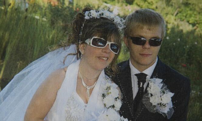 """DRØMMEBRYLLUP: Tanita ble pyntet som en dronning da hun &nbsp;<span style=""""background-color: inherit;"""">og Denis giftet seg i Moldova. Landets lover påbyr - utrolig nok - blinde å &nbsp;</span><span style=""""background-color: inherit;"""">bruke mørke solbriller i offentligheten ... Foto: Privat</span>"""