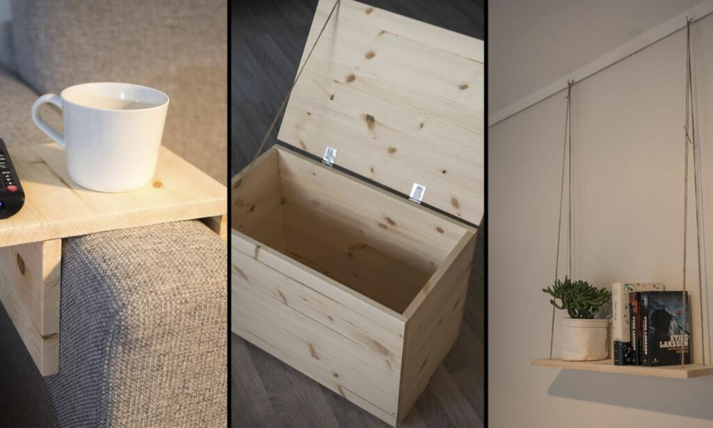 MANGE MULIGHETER: Hobbyplater er enkle å håndtere. Foto: Simen Søvik.