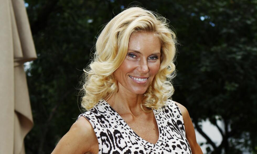 TILBAKE DER DET STARTET: Den svenske tv-profilen Anna Anka (46) returnerer til programmet som gjorde henne berømt. Foto: Erlend Aas / NTB Scanpix