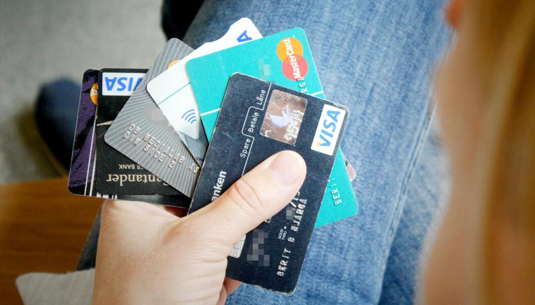 <strong>MISBRUKET ØKER:</strong> Flere får stjålet kortinfo på nett, viser tall fra Finanstilsynet. Foto: Ole Petter Baugerød Stokke