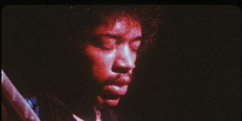 image: Lyden av 7356 gitarer som spiller en gammel Jimi Hendrix-hit