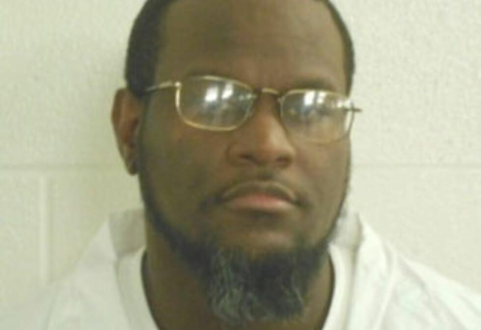 DØDSDØMT: Kenneth Williams skal henrettes i natt. Foto: Arkansas Department of Corrections / Handout via REUTERS / NTB scanpix