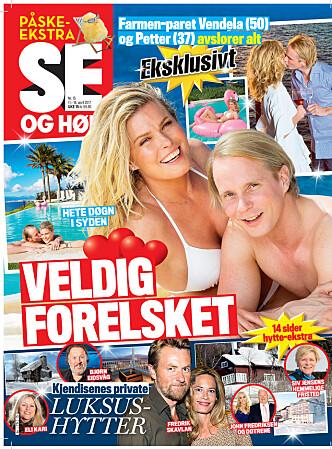 ROMANTISK TUR: Se og Hør har tidligere avslørt at Vendela og Petter reiste på en romantisk tur sammen til Mallorca. Faksimile: Se og Hør