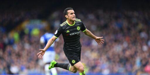 image: Pedro med kremmerhus da Chelsea tok tre viktige poeng i tittelkampen