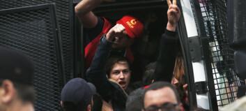 Minst 70 pågrepet under 1. mai-markering i Istanbul