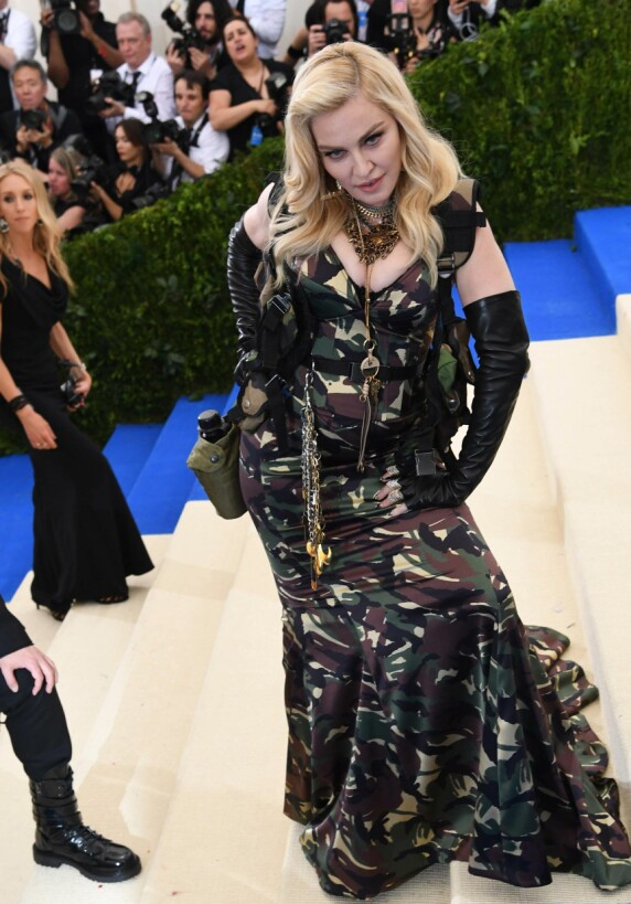 <strong>MET-GALLAEN:</strong> Madonna. Foto: NTB Scanpix