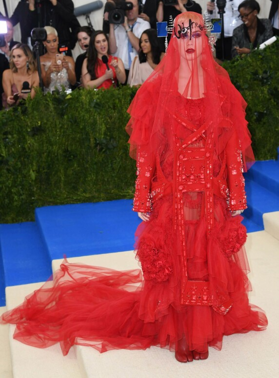 <strong>MET-GALLAEN:</strong> Katy Perry. Foto: NTB Scanpix