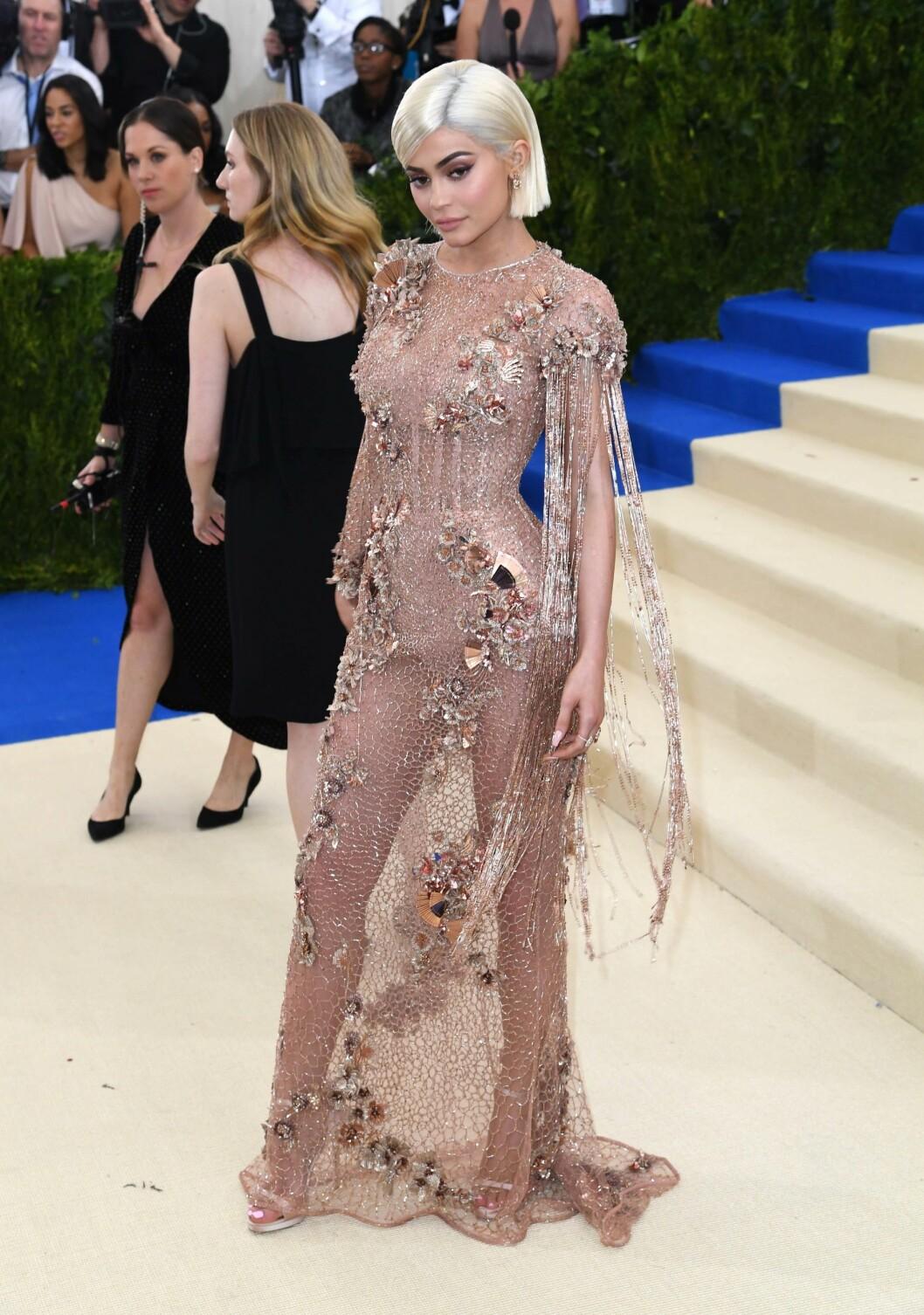FIKK MYE OPPMERKSOMHET: Kylie Jenner Foto: NTB Scanpix