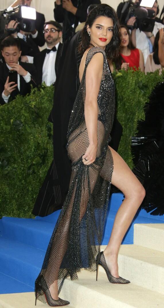 <strong>MET-GALLAEN:</strong> Kendall Jenner. Foto: NTB Scanpix