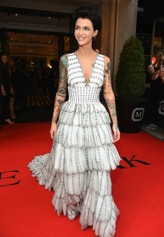 MET-GALLAEN: Ruby Rose. Foto: NTB Scanpix