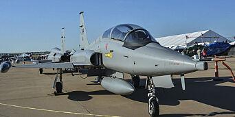 image: Slakter salg av jagerfly til Texas-milliardær