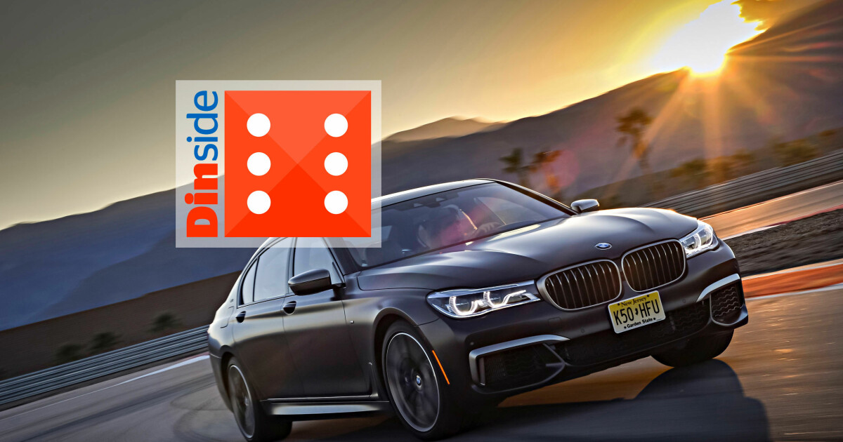 BMW Palm Springs >> Test:BMWM760Li xDrive - Sportsbil kledd i smoking - DinSide