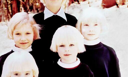 image: Yoga-læreren Anne stjal barn, bleket håret deres og kledde dem identisk for at de skulle være med i sekten «The Family»