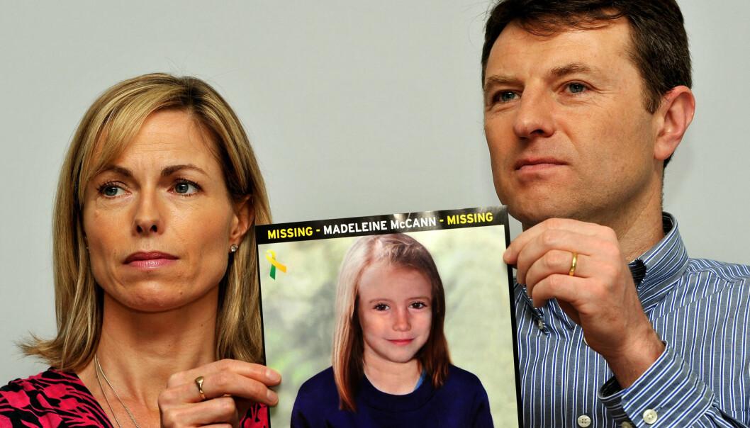 <strong>HÅPER PÅ LIVSTEGN:</strong> Kate og Gerry McCann har forsøkt alt for å komme på sporet av datteren, men har også opplevd at de har blitt mistenkt for å stå bak bortføringen. Foto: NTB Scanpix