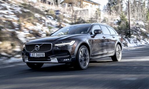 EN VINNER: Volvo registrerte 11.750 nye biler i 2017 - ny rekord og en solid 4.plass på registreringsstatistikken, mellom BMW og Mercedes. Foto: Jamieson Pothecary