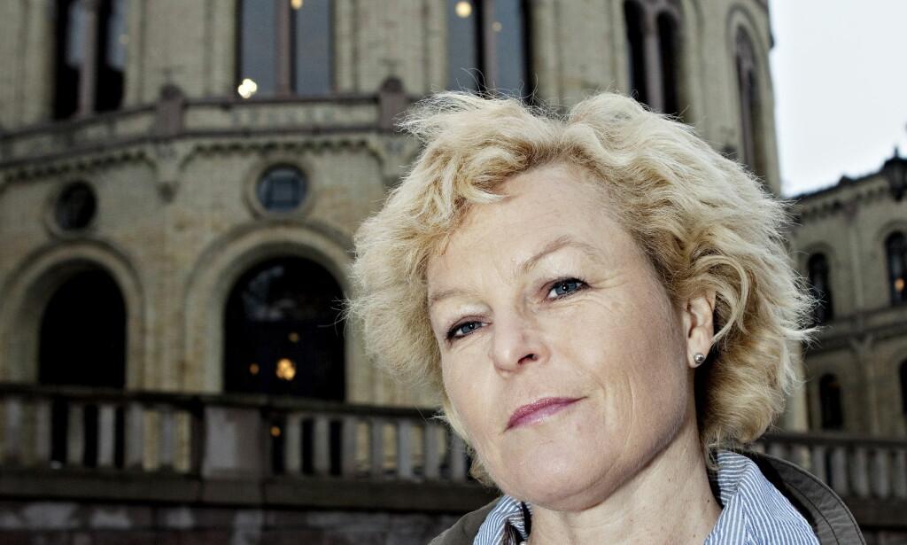 PÅ SYKEHUS: Åse Michaelsen (Frp) er ifølge NRK kraftig influensasyk. Foto: Nina Hansen / Dagbladet