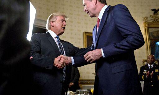 image: Trump sparker FBI-direktør Comey