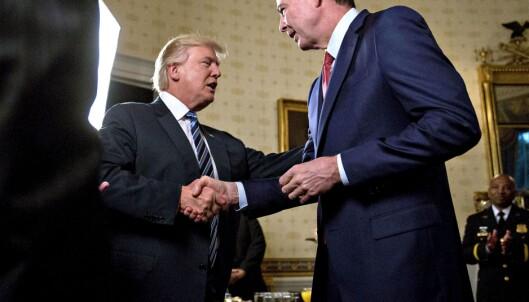 Trump sparker FBI-direktør Comey