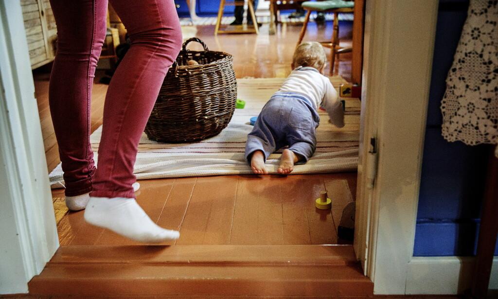 FIKK BARNET TILBAKE: I juni i fjor skrev Dagbladet om ei mor som levde i skjul for politi og barnevern med sin seks måneder gamle sønn. Hun ble funnet og sønnen ble tatt fra henne, men hun vant tilbake omsorgen i fylkesnemnda.  Foto: Nina Hansen