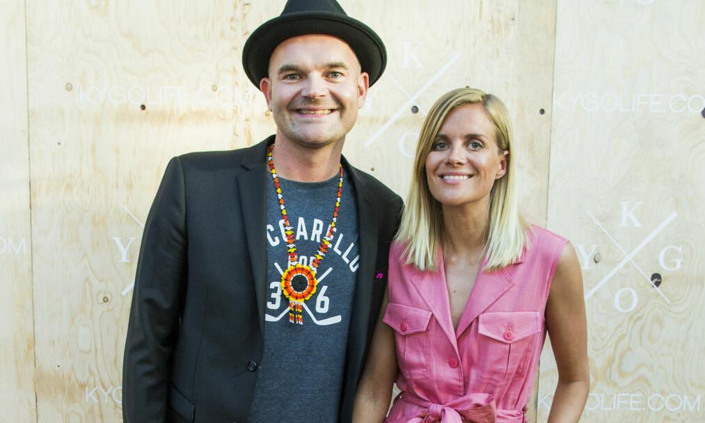 TO BLE TIL TRE: Simen Staalnacke og Anne Berit Valla har fått en sønn. Foto: NTB Scanpix