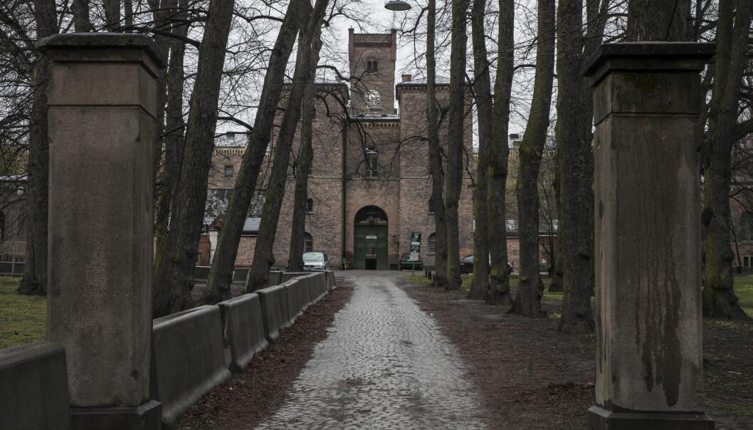 <strong>ANSATT SMITTET:</strong> En ansatt ved Oslo fengsel har testet positivt på coronaviruset. Alle ansatte og innsatte på avdelingen er i karantene. Foto: Vidar Ruud / NTB scanpix