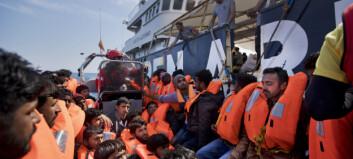 6000 migranter reddet på Middelhavet i helga