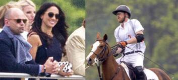 Prins Harry tok med kjæresten for første gang