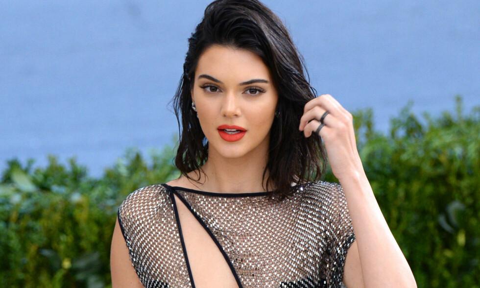 KONTROVERSIELL: Kendall Jenners forside i Vogue skaper debatt. Foto: NTB Scanpix