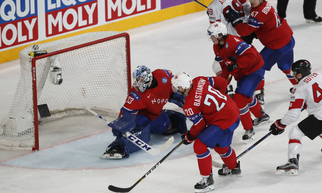 image: Norges tapte for Sveits i ishockey-VM