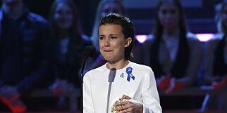 image: «Stranger Things»-stjernen brøt sammen i gråt på scenen