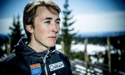 EGET PRESS: Jarl Magnus Riiber legger trolig mer press på seg selv enn omgivelsene gjør. Foto: Thomas Rasmus Skaug / Dagbladet