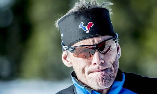 OPTIMIST: Trener Pål Gunnar Mikkelsplass forteller at Therese Johaug har blitt fysisk sterkere. Foto: Thomas Rasmus Skaug / Dagbladet