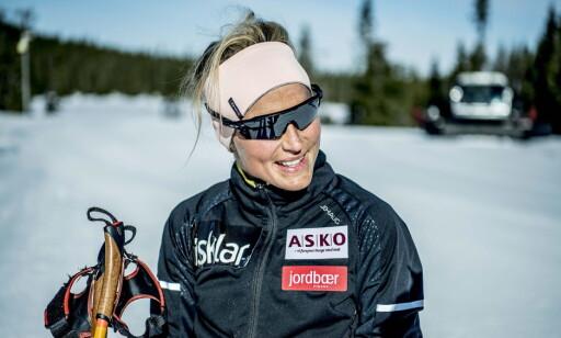 POSITIV: Therese Johaug ser lyst på løypene som venter i OL. Foto: Thomas Rasmus Skaug / Dagbladet
