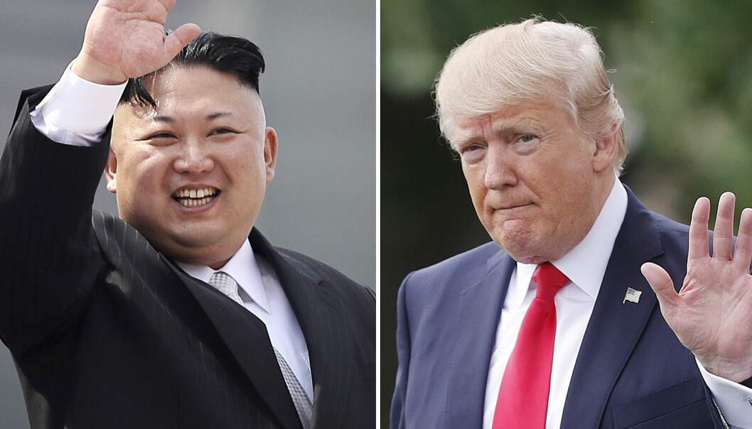 LEDERE: Kim Jong-un og Nord-Korea har gjennomført en ny missiltest. Forskere sier Donald Trump burde ha en lavere profil for å sikre forsoning. Foto: NTB Scanpix