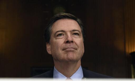 image: FBI-sjefen fikk nyheten om at han var sparket via TV