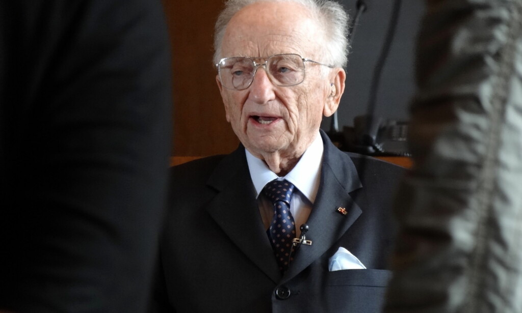 AKTOR: Benjamin Ferencz var aktor under Nürnberg-prossessen. Men han mener likevel ikke at nazistene var villmenn. Foto: Adam Jones / Flickr